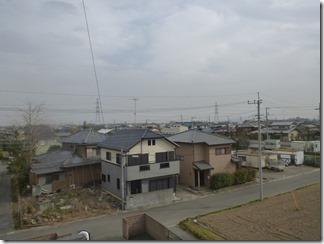 加須市中ノ目M樣 東京タワー方向の景色(完了)。