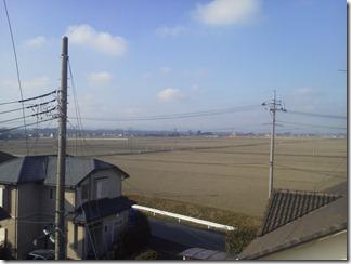 熊谷市万吉M様 児玉局方向の景色(完了)。