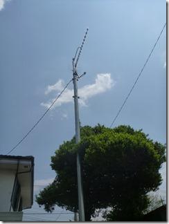 鴻巣市広田M樣 アンテナ工事完了。