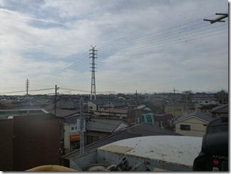 北本市西高尾M様 東京タワー方向の景色。