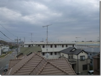 鴻巣市新宿M樣 東京タワー方向の景色。
