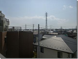 北本市西高尾M樣 東京タワー方向の景色(完了)。