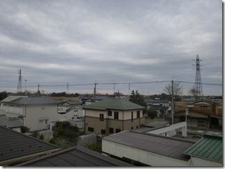 加須市南大桑N様 東京タワー方向の景色。