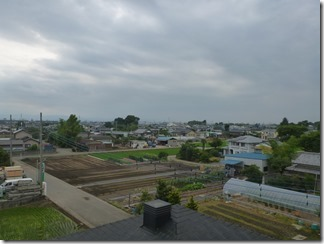 鴻巣市屈巣N樣 児玉局方向の景色。