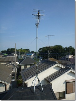鴻巣市広田O様 アンテナ工事完了。