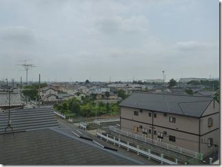 加須市外川O樣 東京スカイツリー方向の景色(完了)。