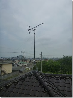 加須市外川O樣 アンテナ工事完了。