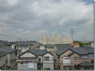 鴻巣市上谷R様 前橋局方向の景色(完了)。