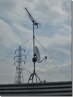 鴻巣市上谷R様 アンテナ工事完了。