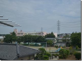 桶川市坂田S樣 東京スカイツリー方向の景色(完了)。