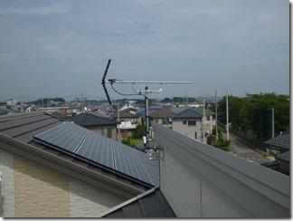 桶川市坂田S樣 アンテナ工事完了。