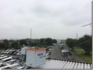 蓮田市黒浜S様 東京スカイツリー方向の景色(完了)。