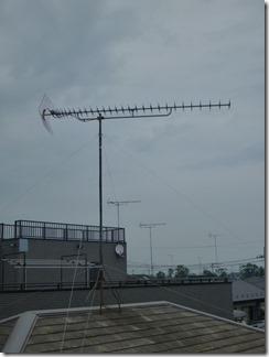 羽生市西S樣 アンテナ工事完了。