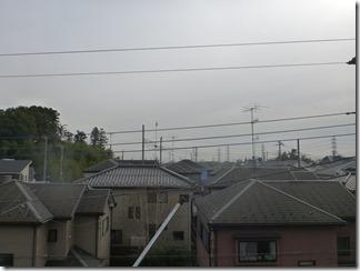桶川市坂田S様 東京タワー方向の景色(完了)。