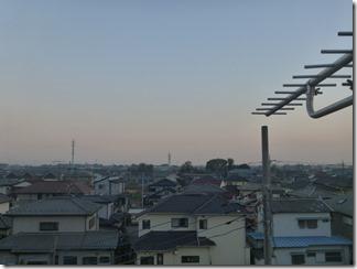 鴻巣市松原S様 東京スカイツリー方向の景色。