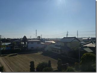 鴻巣市北根S様 東京スカイツリー方向の景色(完了)。