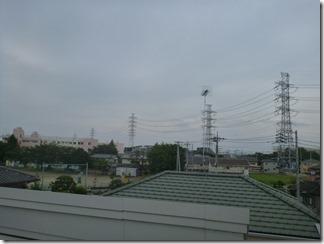 桶川市坂田S樣 東京スカイツリー方向の景色。