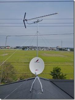 杉戸町高野台西T樣 アンテナ工事完了。