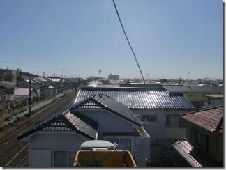鴻巣市富士見町T樣 東京タワー方向の景色(完了)。