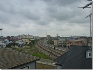 鴻巣市筑波T様 東京スカイツリー方向の景色(完了)。