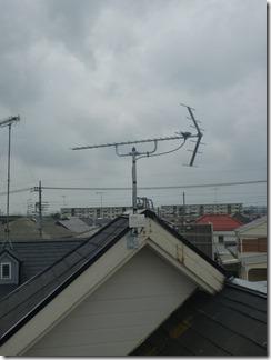 鴻巣市筑波T様 アンテナ工事完了。