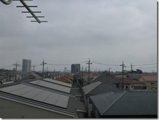 桶川市朝日T樣 東京タワー方向の景色。