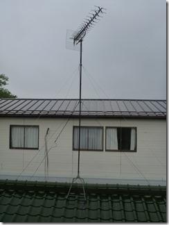 行田市須加Y樣 アンテナ工事完了。