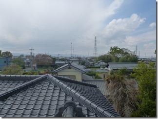 熊谷市玉井S樣 児玉局方向の景色(完了)。