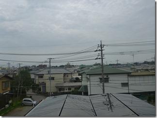 北本市西高尾N樣 東京スカイツリー方向の景色。