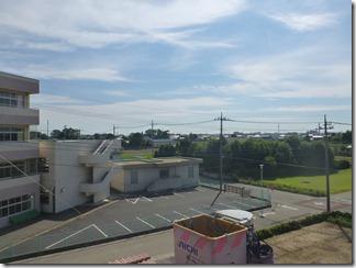 行田市下須戸I様 東京タワー方向の景色(完了)。