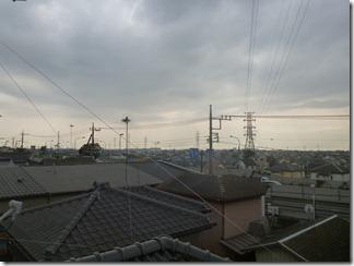 久喜市栗橋東K様 東京タワー方向の景色(完了)。