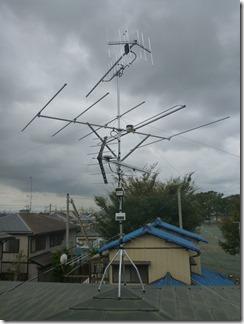 熊谷市妻沼M樣 アンテナ工事完了。