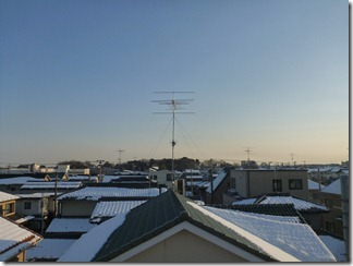 蓮田市関山H様 東京タワー方向の景色。