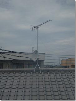 熊谷市中西A樣 アンテナ工事完了。