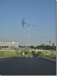 鴻巣市鴻巣T樣 アンテナ工事完了。