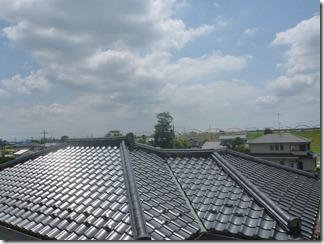 鴻巣市大芦F様 東京タワー方向の景色(完了)。