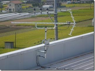 鴻巣市赤城台D樣 アンテナ工事完了。