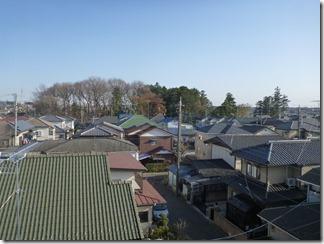 鴻巣市小松A樣 東京タワー方向の景色(完了)。
