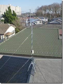 鴻巣市小松A樣 アンテナ工事完了。