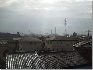 北本市深井S様 東京タワー方向の景色(完了)。