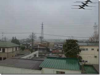 加須市南大桑K様 東京タワー方向の景色(完了)。