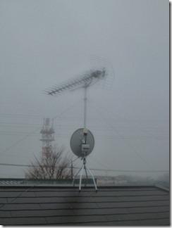 加須市南大桑K様 アンテナ工事完了。