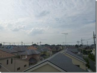 久喜市南栗橋O様 前橋局方向の景色(完了)。