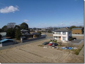 久喜市菖蒲町小林S樣 前橋局方向の景色(完了)。