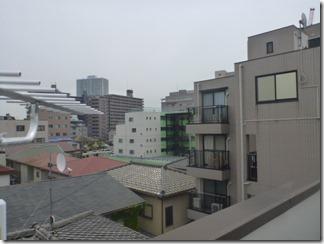 上尾市柏座A樣 東京タワー方向の景色(完了)。