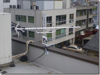 上尾市柏座A樣 アンテナ工事完了。