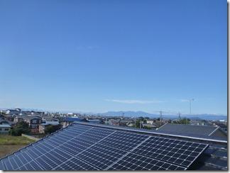 熊谷市善ヶ島E様 前橋局方向の景色。