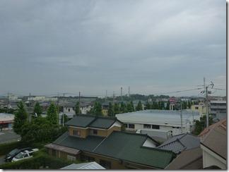 久喜市吉羽E樣 東京スカイツリー方向の景色(完了)。