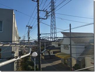 北本市宮内K様 東京タワー方向の景色。