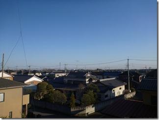 羽生市南羽生K樣 東京タワー方向の景色。